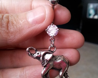 Elephant Belly Ring -FREE SHIPPING