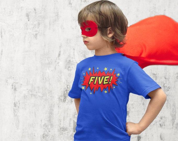 Super Hero Birthday shirt - Superhero Birthday shirt- Comic book superhero  Birthday- CUSTOM