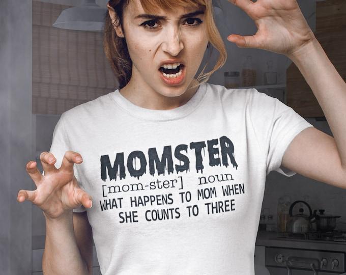 Mom Halloween shirt - Momster shirt - Women's Halloween