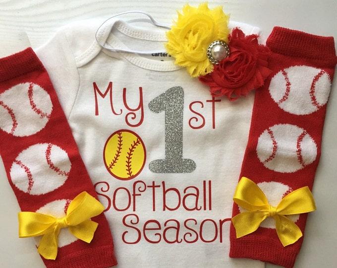 My 1st Softball Season