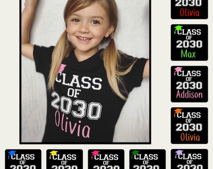 CUSTOM Class of ____ Shirt- Personalized