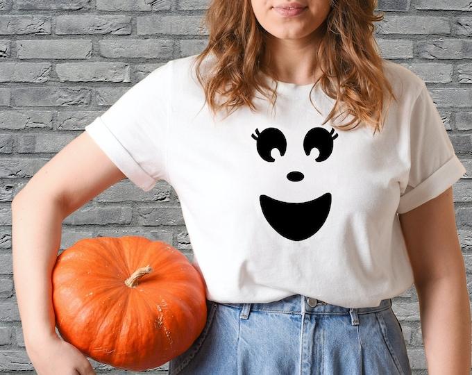 Ghost Shirt - Kid's Halloween shirt - women's Halloween shirt - BOO shirt - Ghost costume - Ghost t-shirt
