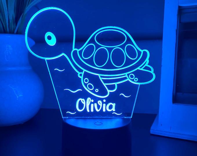 LED night light - Personalized Kid's night light - LED home decor- Led room light - LED home decor - Teen birthday gift- Custom night light