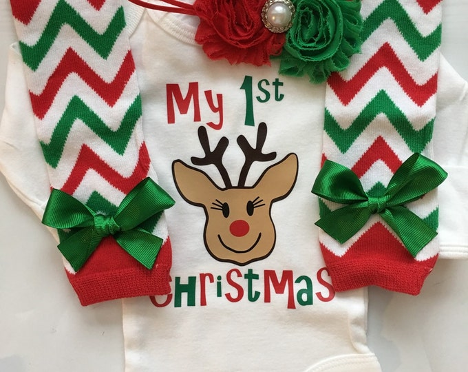 Baby's 1st Christmas outfit