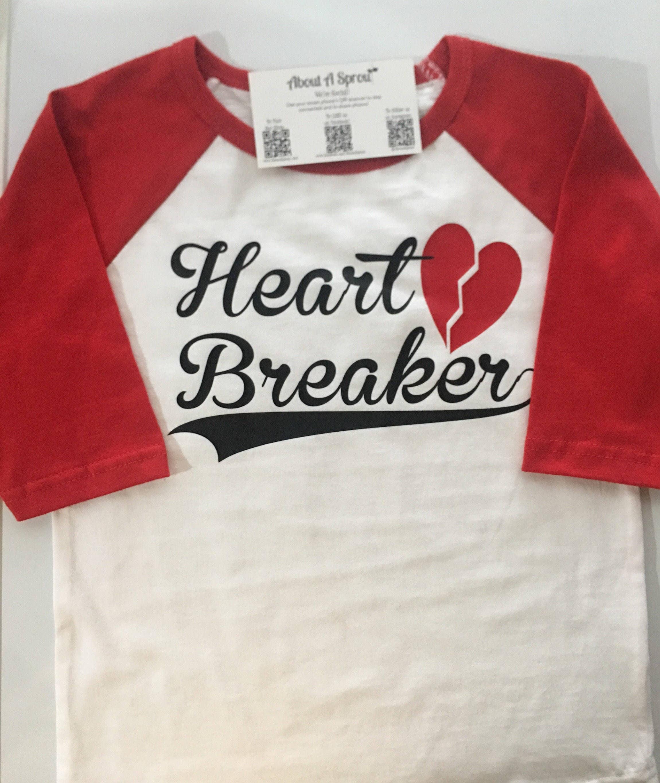 Boys Girls Valentines Day Shirt Valentine Baseball Shirt Boys