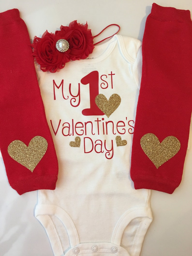 013c8b747 Baby Girl Outfit Baby Valentines Day outfit valentines | Etsy