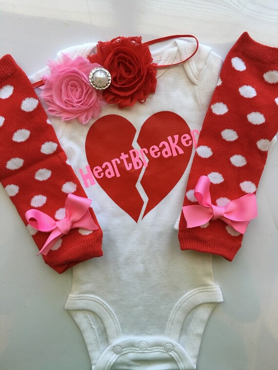 Baby Girl 1st Valentines Day Baby Girl Valentine S Day Etsy