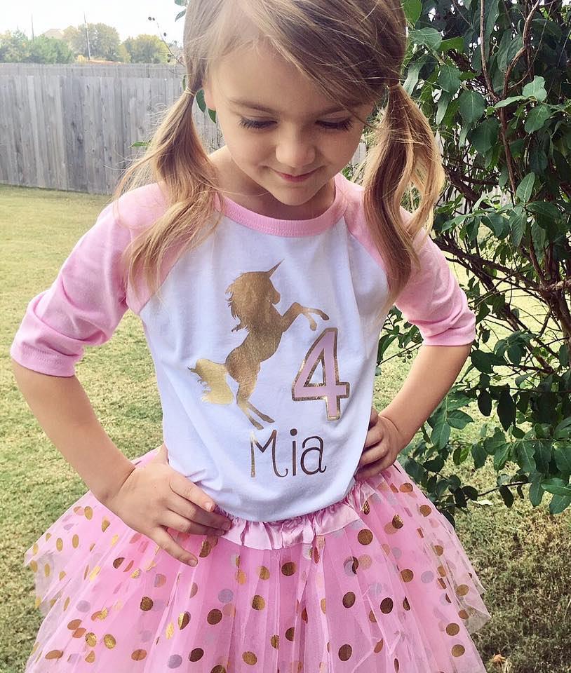 0fa257f47 ... shirt - unicorn birthday party- CUSTOM available. gallery photo ...