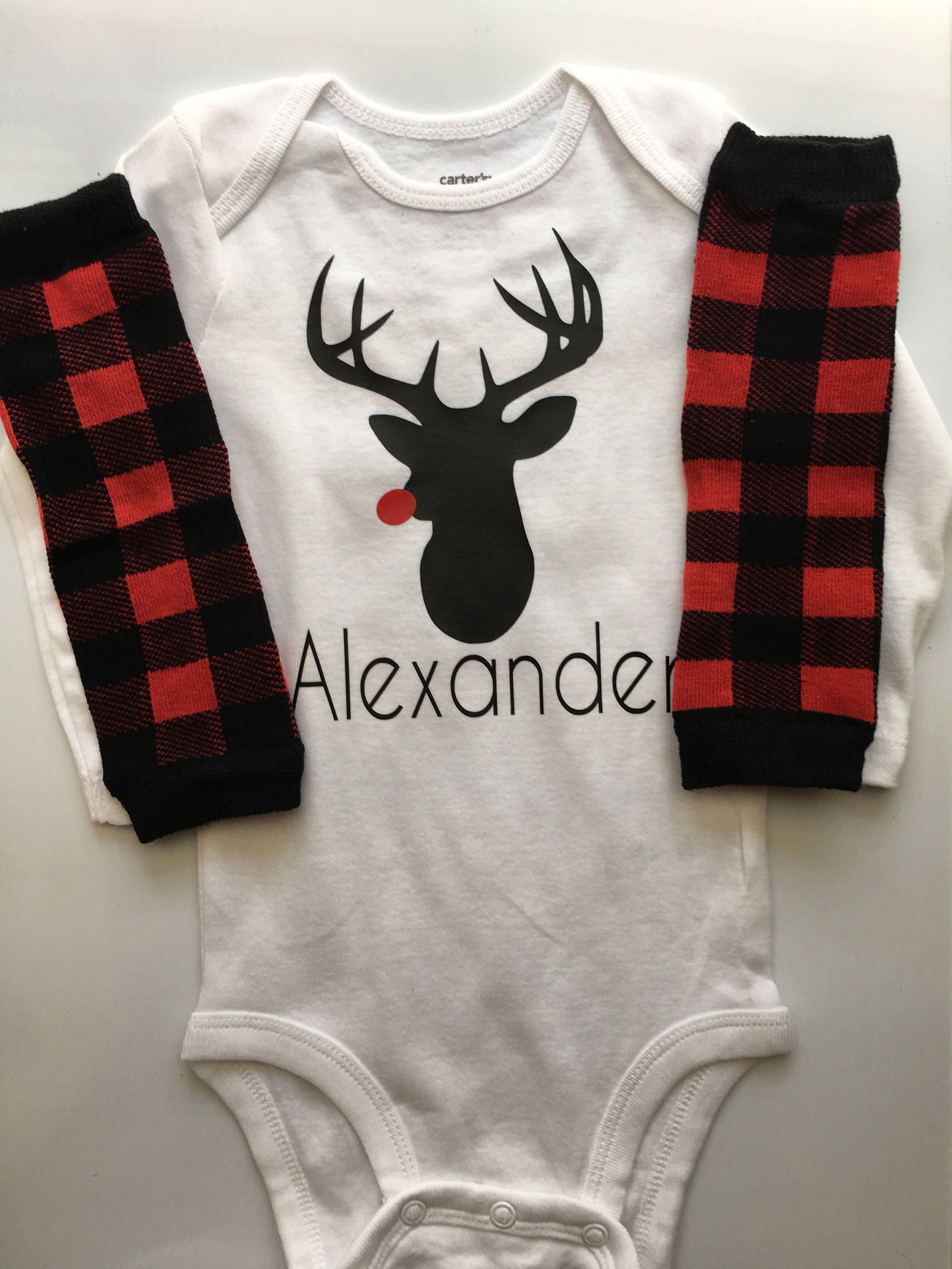 24ac61388 Personalized Reindeer outfit. gallery photo ...