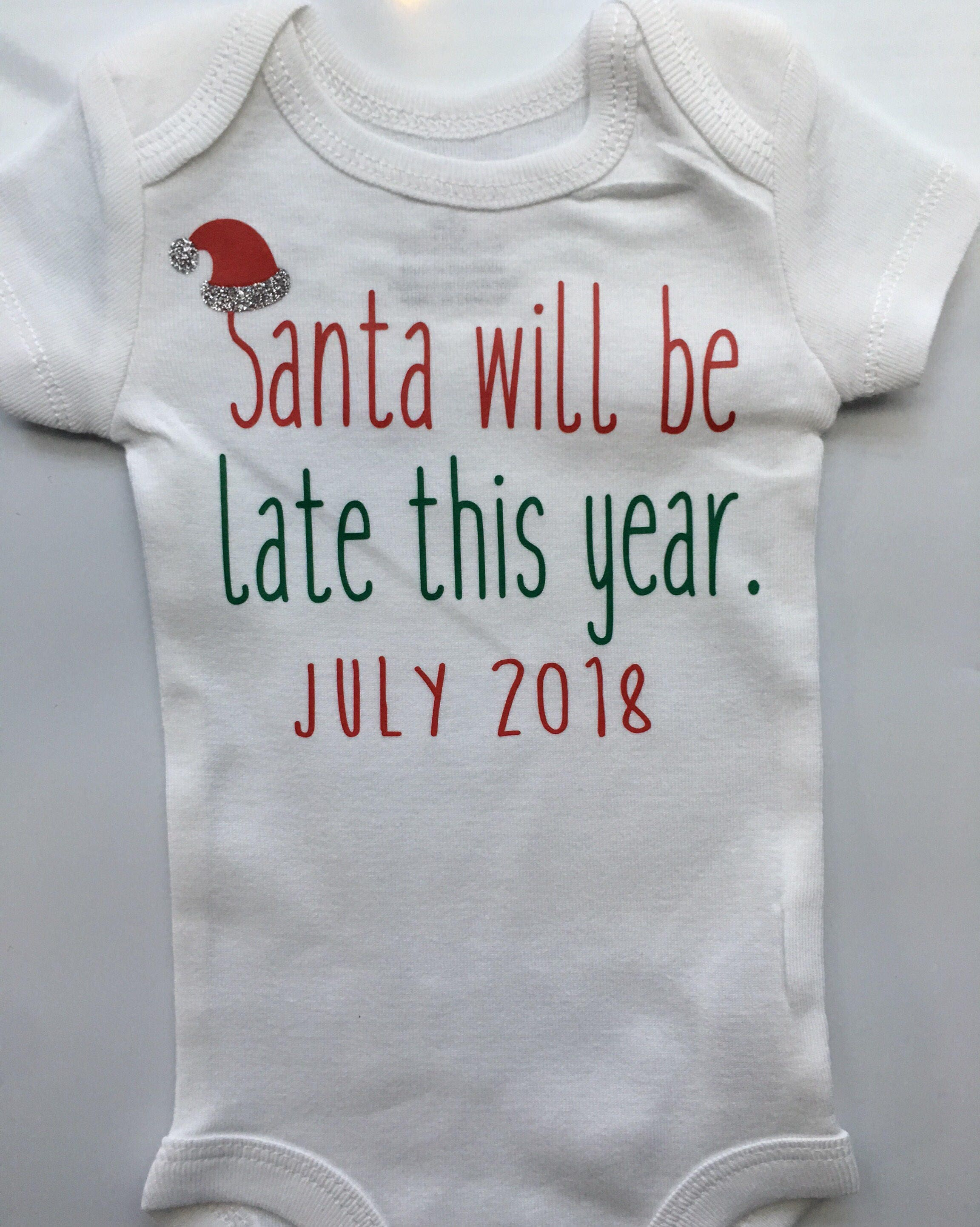 Christmas Pregnancy Announcement Idea Pregnancy Reveal Baby Reveal Personalized Babyl Christmas Pregnancy Reveal