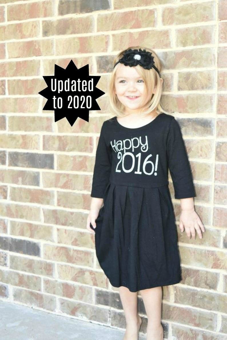 2020 dress 2020 outfit- sizes 4-8- UPDATE to 2020 SALE-Girls New Years DRESS Girls 2020 outfit toddler new years outfit