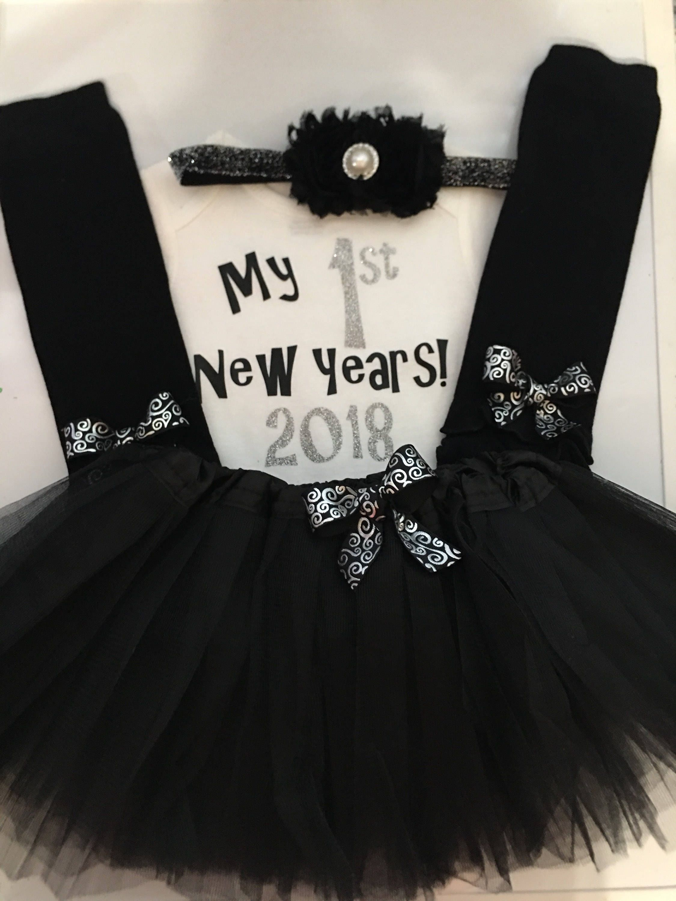 adbb447d0aead ... my first new years outfit - 2019 New years baby outfit - baby girl  photo prop-TUTU. gallery photo ...