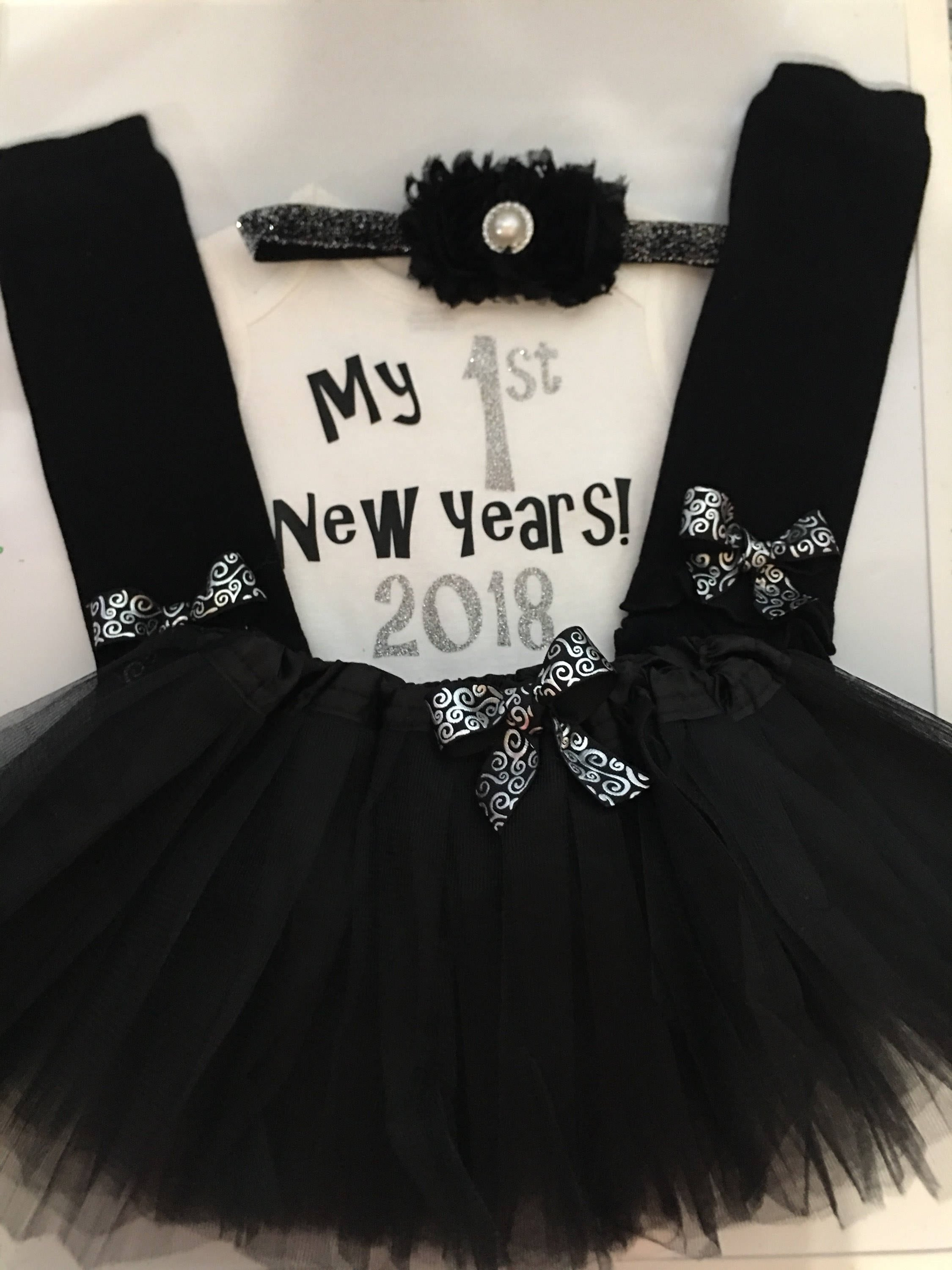 677462cc1a6a ... my first new years outfit - 2019 New years baby outfit - baby girl  photo prop-TUTU. gallery photo ...