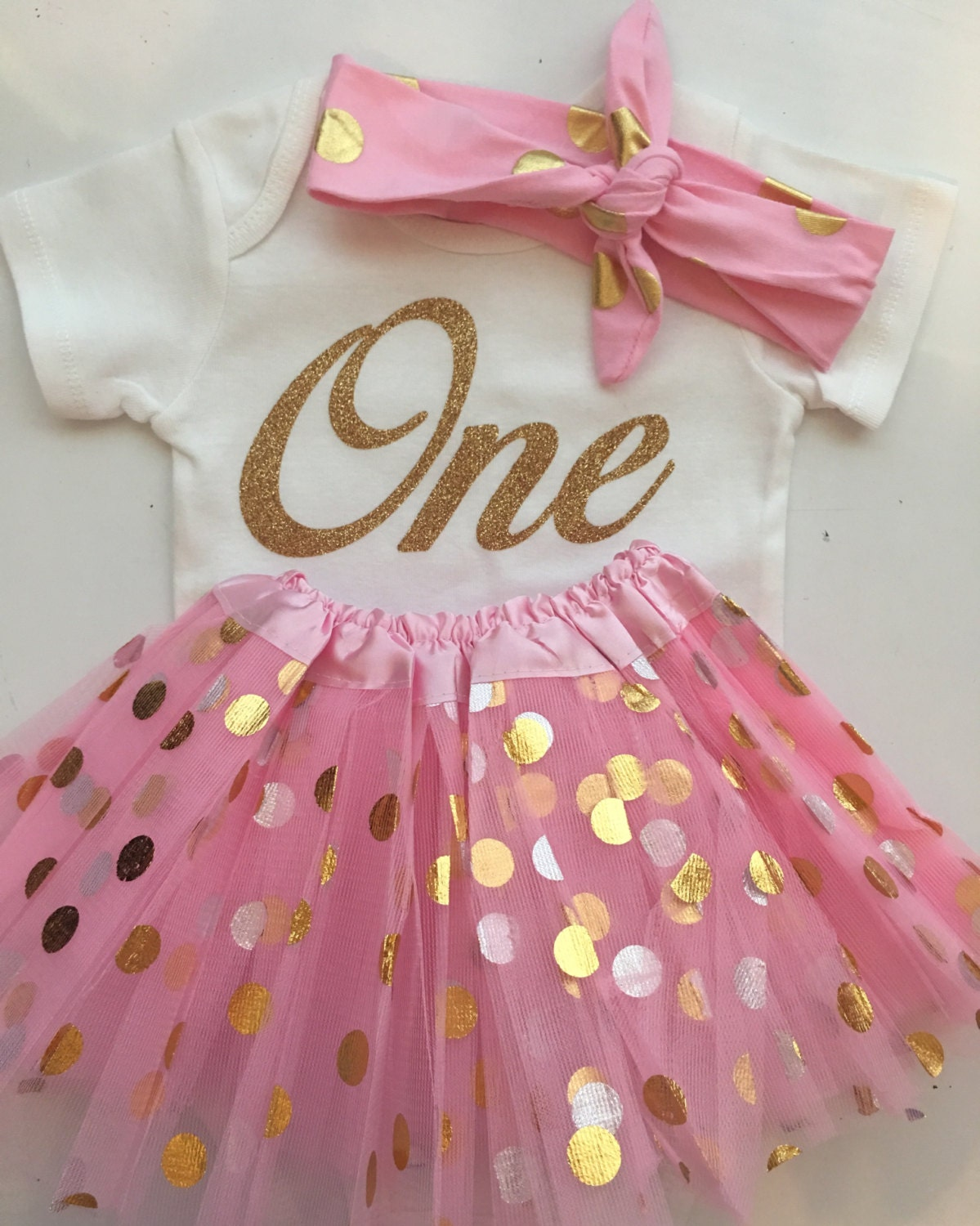 Baby Girl 1st Birthday 2nd Birthday Outfit Smash Cake Outfit 1st