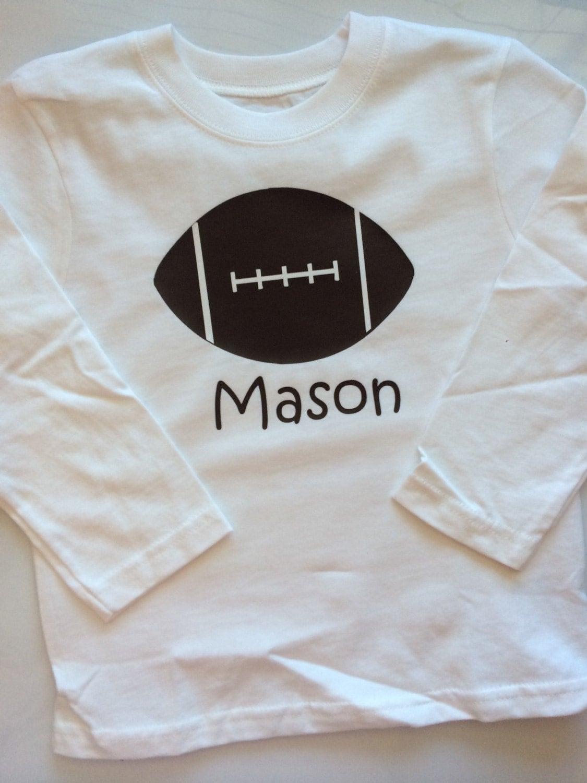 Football Shirt Baby Boy Football Shirt Personalized Etsy