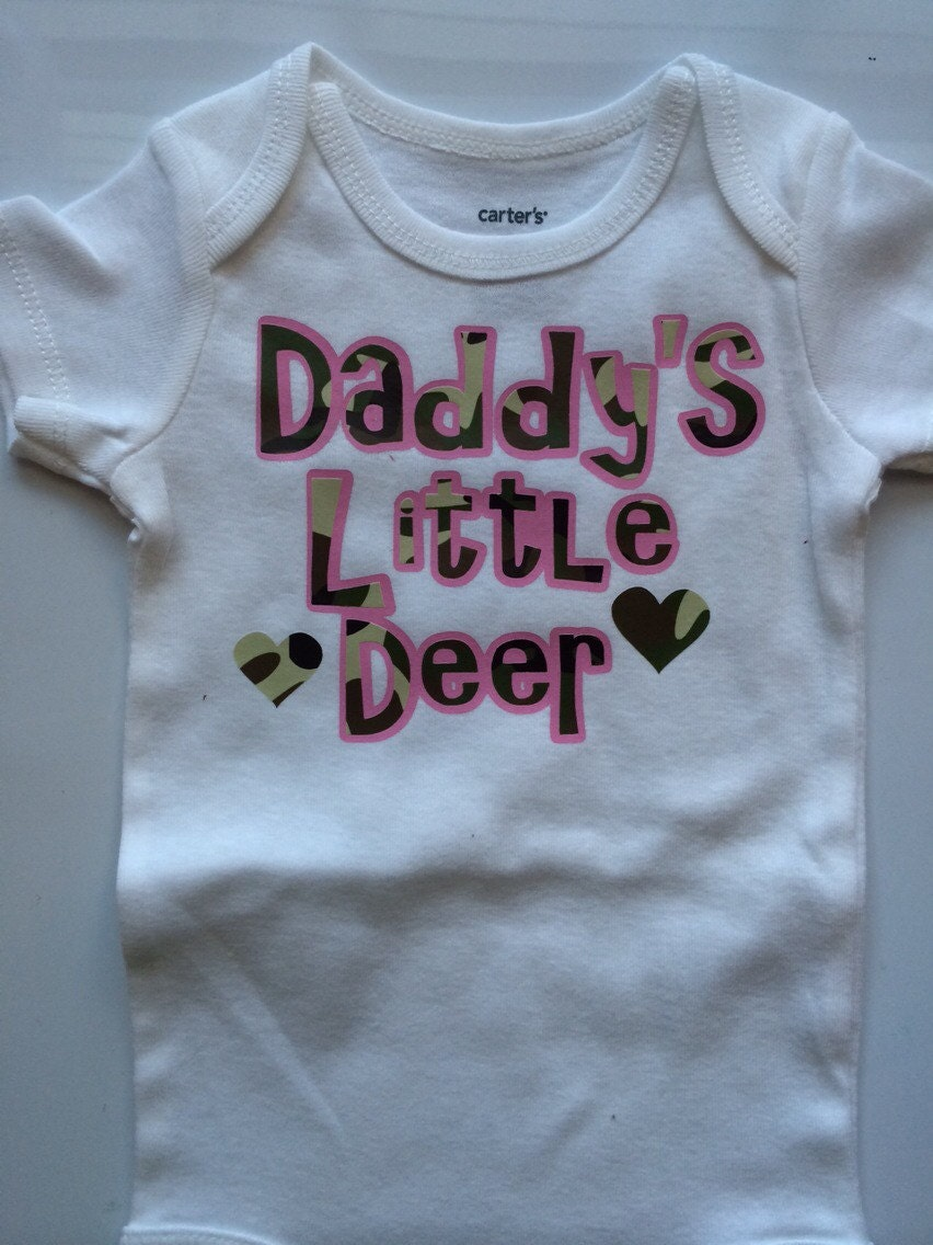 281707e48 Baby Girl outfit - Fathers Day outfit - Hunting baby girl outfit - baby  girl Fathers Day outfit -