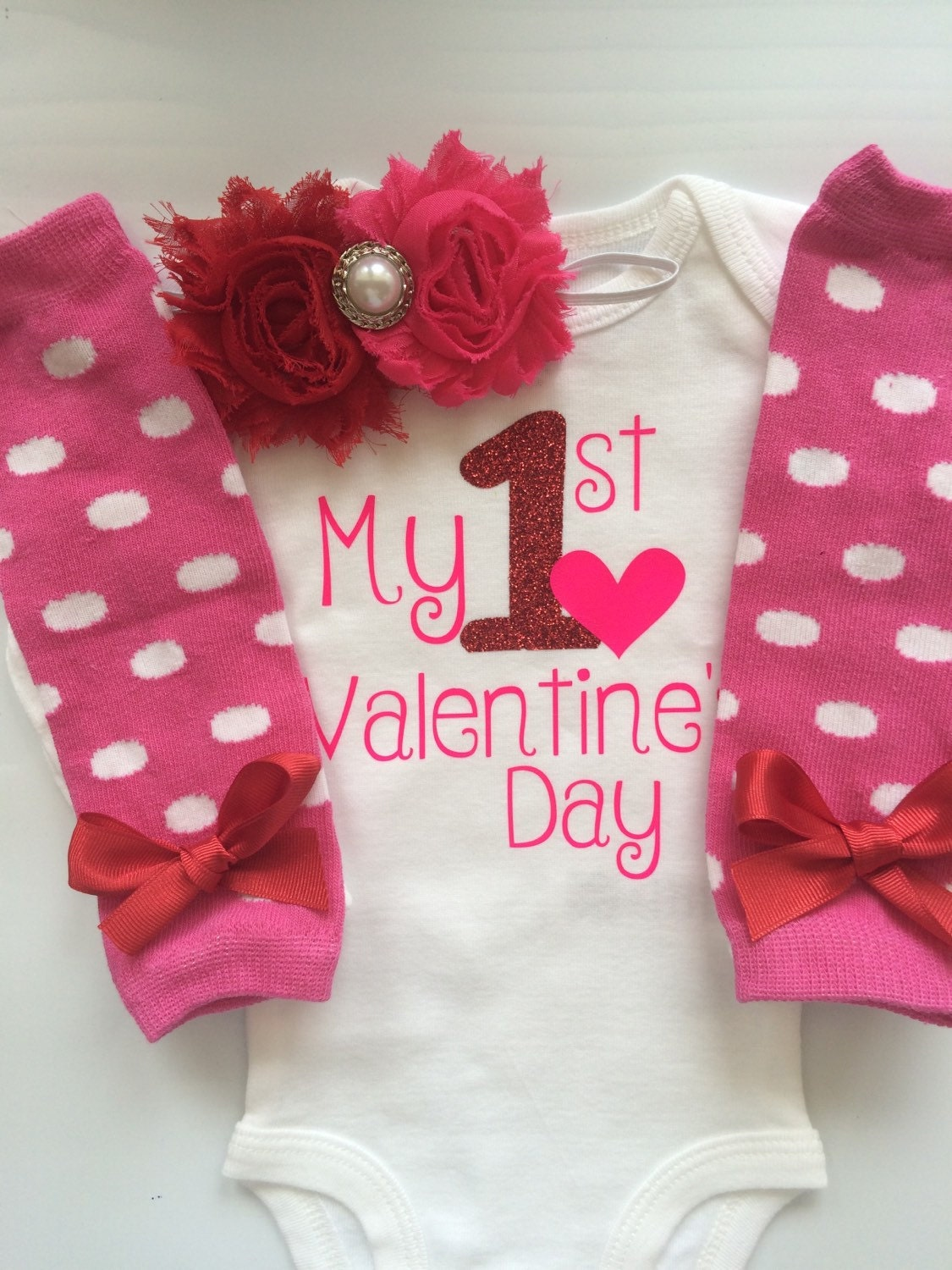 Baby Girl 1st Valentines Day Baby Girl Valentine S Day Outfit