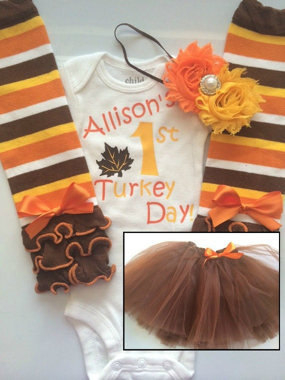 6958ab624 ... baby fall clothes -pumpkin patch outfit - My first Thanksgiving-  thanksgiving tutu. gallery photo ...