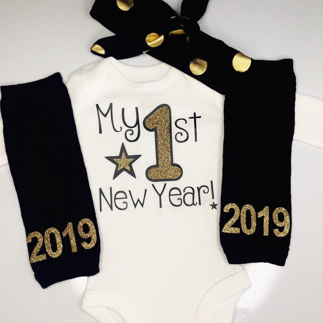 fec002d4a6c20 Baby girl 1st New years outfit - my first new years outfit - 2019 New ...