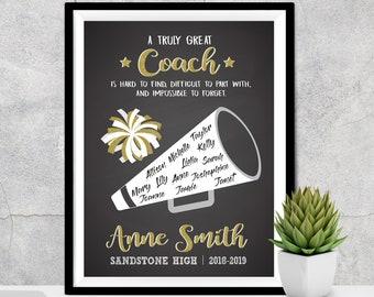 Cheer Coach Gift Etsy