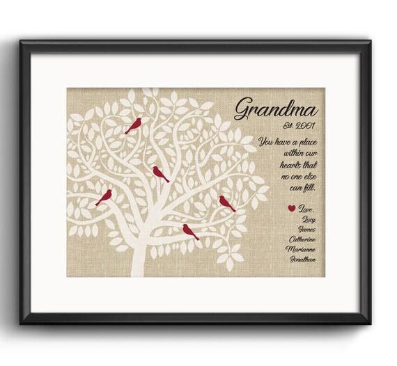 Oma Geschenk Für Weihnachten Großeltern Geschenk Enkel Enkel Namen Personalisierte Geschenk Für Oma Und Opa Stammbaum