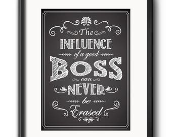 A Great Boss is Hard to Find - Printable Boss Gift - Boss Gift - Gift for Boss - Boss Printable - Boss Quote - Boss gift from employee