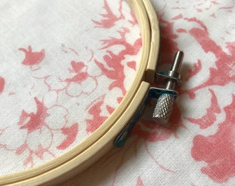 One bambo embroidery hoop