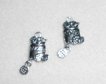 Silver Cookies Charms