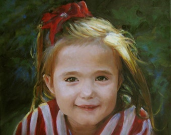 Custom Portrait in Oil painted from your photo