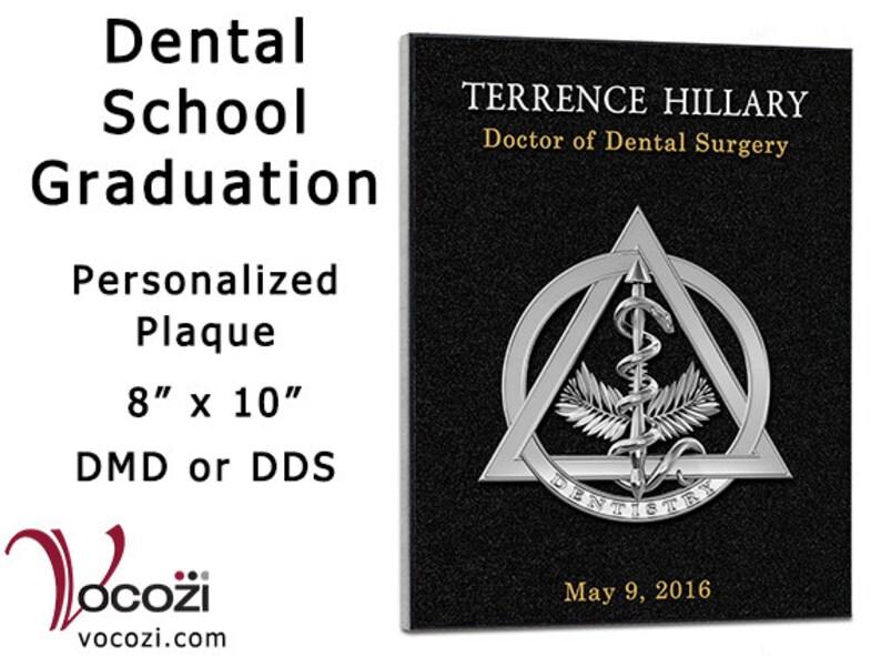 image 0 ...  sc 1 st  Etsy & Dental School Graduation Gift Personalized 8 x | Etsy