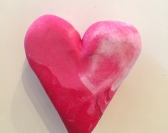 Polymer Clay Heart Magnet