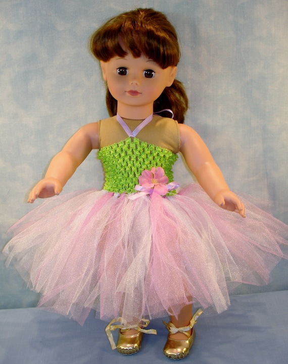 Pink Tutu Outfit handmade by Jane Ellen for 18 inch dolls 18 Inch Doll Clothes
