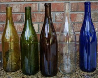 Cut Wine Bottle Etsy