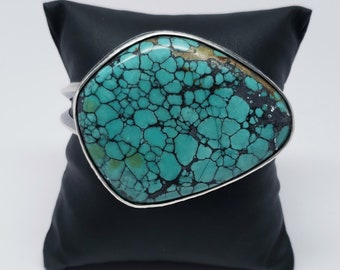 Large Chunk of Turquoise Cuff at Fountain Hills Artists Gallery