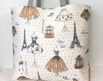 Shoulder Tote Bag Paris Fashion Cotton Shoulder Tote Bag Diva Shoulder Bag Market Tote Bag Gifts for Girls Shoulder Tote