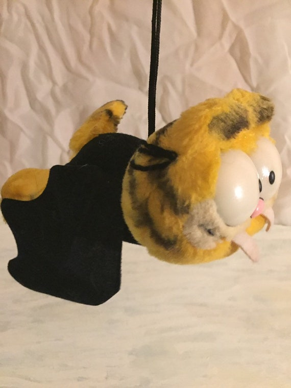 Dakin Garfield Vampire Plush Stuffed Toy Vintage Retro 80s Etsy