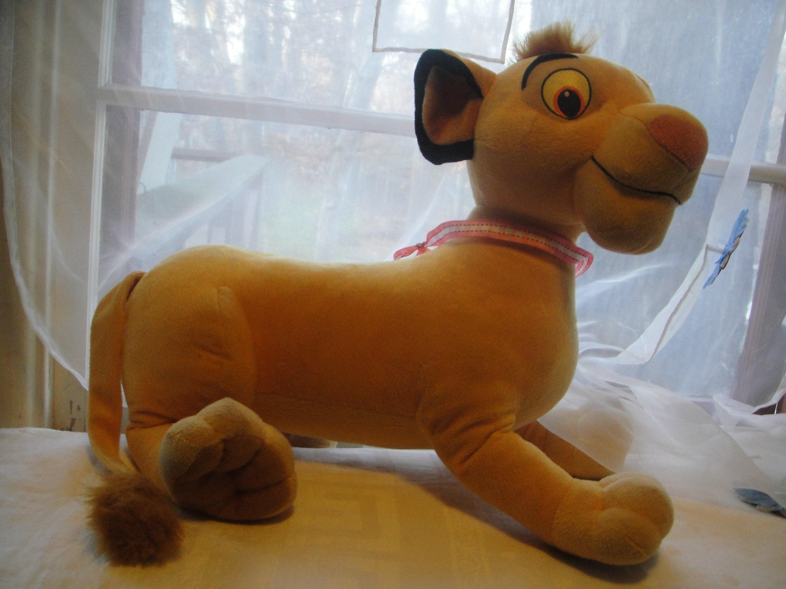Vintage Large Lion King Plush Simba Plush Stuffed Animal Etsy