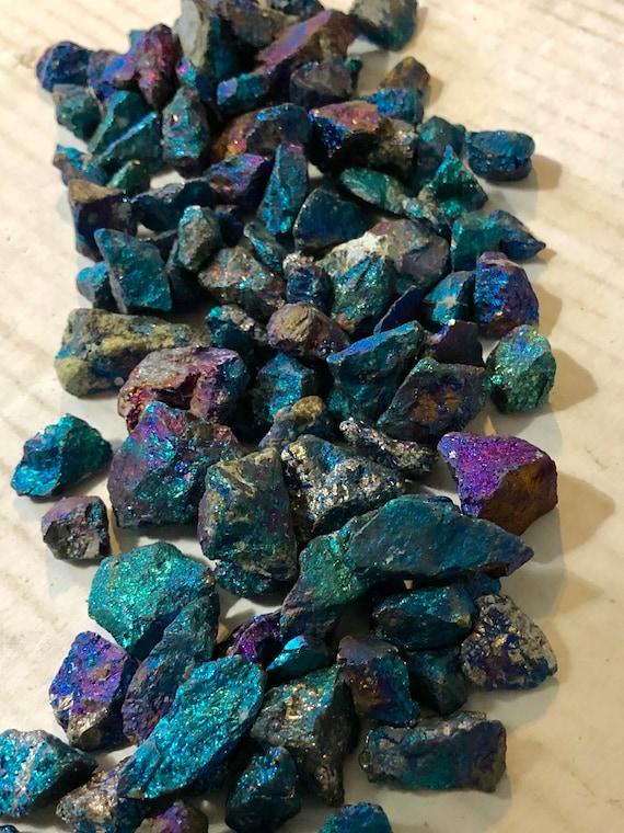 Peacock Copper ore Natural Small 1//2 Pound