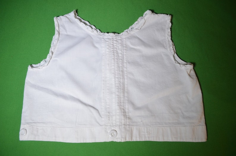 5cfb952d9 ON SALE Vintage Little Girl's White Sleeveless Camisole | Etsy