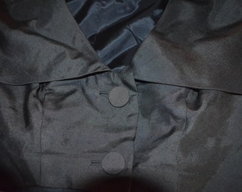 ON SALE  Vintage Dressy Black Jacket Size 16