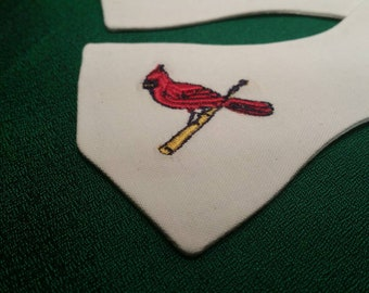 St. Louis Cardinals Monogrammed Bird-On-The-Bat BowTie