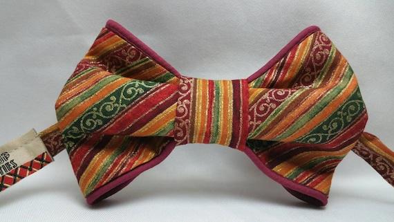 Men's African Print Bow Tie
