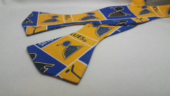 St. Louis Blues Men, Boys  and Toddler Self Tie or Pre-Tied Bow Ties