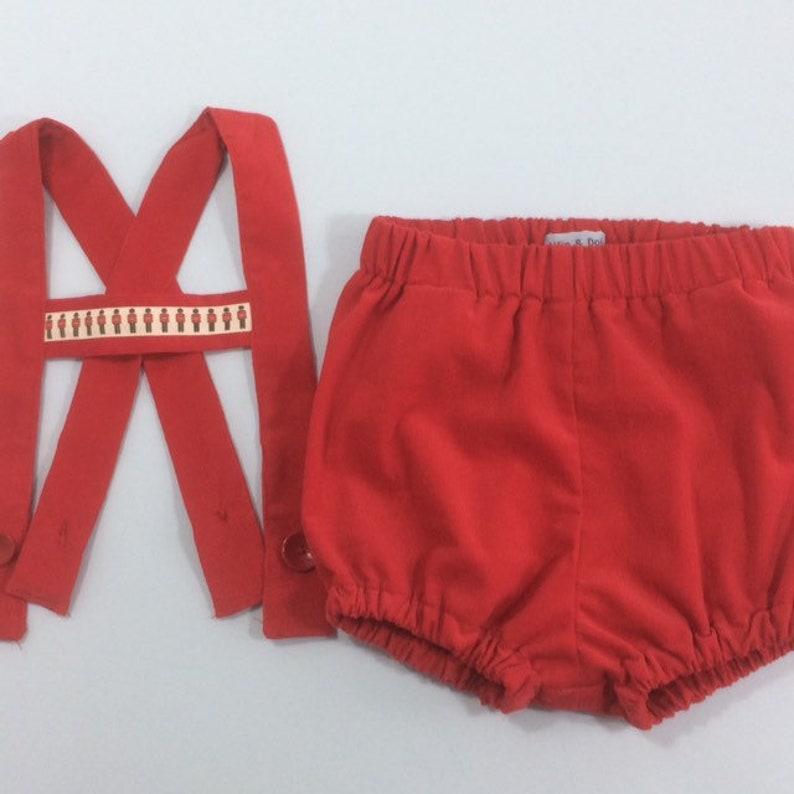 Braces shorts for boy