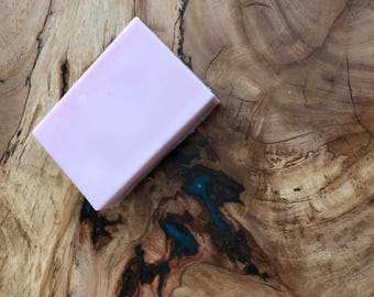 Shea and cocoa butter soap