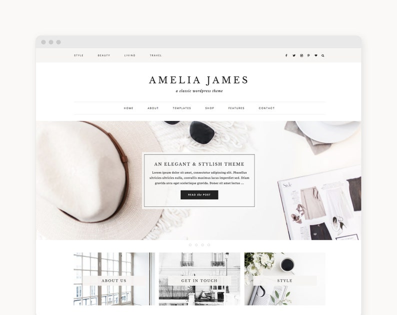 WordPress Theme  WordPress Ecommerce Theme  Genesis Theme  image 0