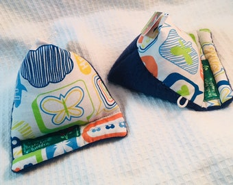 Messages-Phone holder fabric