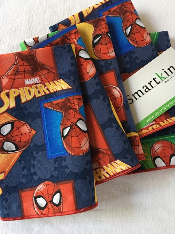 Spider-Man Napkin All Cotton 12x15 in Size by Smartkin