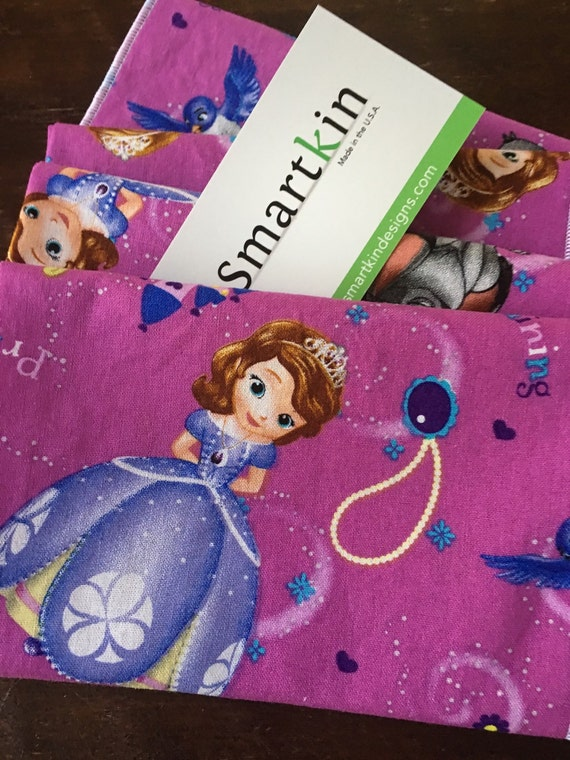 Princess in Training Sofia the First Cloth Napkin by Smartkin