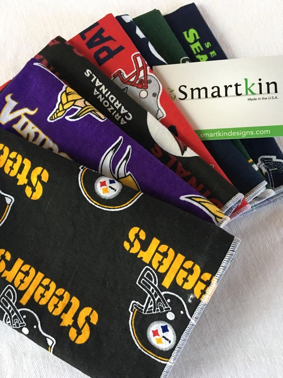 Football Team Cloth Napkin by Smartkin
